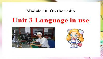 Language in use学案PPT