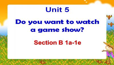 《Do you want to watch a game show》课案PPT