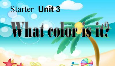《What color is it》主要课件PPT