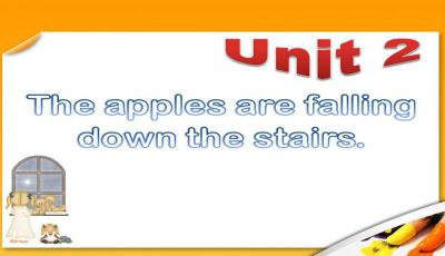 The apples are falling down the stairs教案PPT